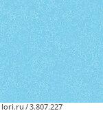 Бесшовный рисунок, светлые контуры цветов на голубом фоне. Стоковая иллюстрация, иллюстратор Евгений / Фотобанк Лори