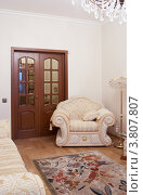 Купить «Интерьер современной гостиной», фото № 3807807, снято 29 ноября 2007 г. (c) Татьяна Макотра / Фотобанк Лори