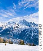 Шамони (Chamonix) Стоковое фото, фотограф Виктор Андреев / Фотобанк Лори
