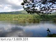 Купить «Река Баргузин», фото № 3809331, снято 8 июля 2012 г. (c) Ольга Груздова / Фотобанк Лори