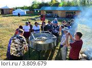 Купить «Самая большая Бууза», фото № 3809679, снято 5 сентября 2012 г. (c) Валерий Митяшов / Фотобанк Лори