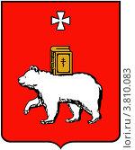Купить «Герб города Перми», иллюстрация № 3810083 (c) Владимир Макеев / Фотобанк Лори