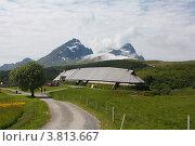 Купить «Музей викингов Лофотр в Норвегии», фото № 3813667, снято 16 июня 2011 г. (c) Ирина Соколова / Фотобанк Лори