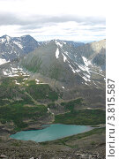 Купить «Озеро Акчан. Вид с горы Колбан», фото № 3815587, снято 13 июля 2009 г. (c) Анна Омельченко / Фотобанк Лори