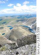 Купить «Вид с горы Колбан. Горный Алтай», фото № 3815599, снято 13 июля 2009 г. (c) Анна Омельченко / Фотобанк Лори