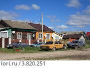 Купить «Автомобильная разборка в Курлово», эксклюзивное фото № 3820251, снято 1 сентября 2012 г. (c) Игорь Веснинов / Фотобанк Лори