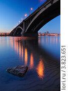 Купить «Вечерний Красноярск», фото № 3823651, снято 9 сентября 2012 г. (c) Михаил Зверев / Фотобанк Лори