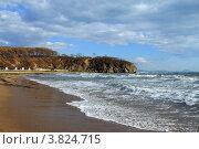 Морской осенний пейзаж. Стоковое фото, фотограф Виниченко Ирина Николаевна / Фотобанк Лори