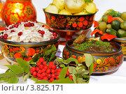 Купить «Русские соленья», фото № 3825171, снято 1 сентября 2012 г. (c) Валерия Попова / Фотобанк Лори