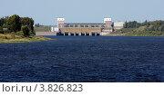 Рыбинская ГЭС N2 (2011 год). Стоковое фото, фотограф Алексей Шипов / Фотобанк Лори
