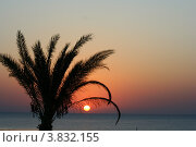 Восход солнца над морем. Стоковое фото, фотограф Марат Сафаров / Фотобанк Лори