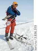 Купить «Ски-альпинизм. Камчатка», фото № 3836319, снято 21 апреля 2012 г. (c) А. А. Пирагис / Фотобанк Лори