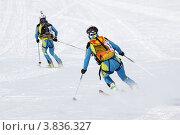 Купить «Ски-альпинизм. Камчатка», фото № 3836327, снято 21 апреля 2012 г. (c) А. А. Пирагис / Фотобанк Лори
