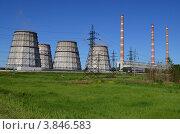 Электростанция. Стоковое фото, фотограф Александр Клоповский / Фотобанк Лори