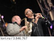 Купить «Музыканты Amsterdam Klezmer Band», фото № 3846767, снято 5 июня 2011 г. (c) Елизавета Светилова / Фотобанк Лори