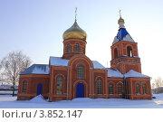 Приход Казанской церкви в Старое Шайгово (2012 год). Стоковое фото, фотограф Андрей Букирев / Фотобанк Лори