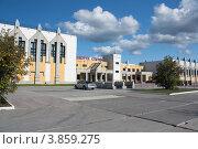 Дворец спорта г. Когалым (2012 год). Стоковое фото, фотограф Бордачёва Светлана / Фотобанк Лори