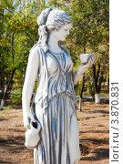 Купить «Ахтубинск. Статуя Музы», эксклюзивное фото № 3870831, снято 27 сентября 2012 г. (c) katalinks / Фотобанк Лори