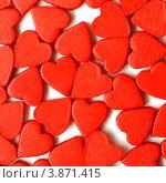Купить «Текстура из маленьких сердечек», фото № 3871415, снято 18 августа 2012 г. (c) Tatjana Romanova / Фотобанк Лори
