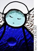 Стеклянный ангел витраж. Стоковое фото, фотограф Кравцова Наталья / Фотобанк Лори