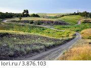 Шахтерский поселок. Стоковое фото, фотограф Николай Сальников / Фотобанк Лори
