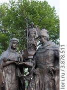Купить «Бийск. Памятник семье (фрагмент)», фото № 3878511, снято 8 августа 2012 г. (c) Александр Бурдовицин / Фотобанк Лори