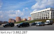 Купить «Город Владимир. Улица Мира», эксклюзивное фото № 3882287, снято 22 апреля 2012 г. (c) Яков Филимонов / Фотобанк Лори