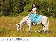Прогулка верхом на лошади. Стоковое фото, фотограф Игорь Долгов / Фотобанк Лори