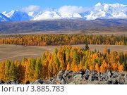 Купить «Горный Алтай», фото № 3885783, снято 25 сентября 2007 г. (c) Станислав Мороз / Фотобанк Лори