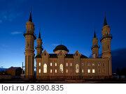 Купить «Соборная мечеть в городе Стерлитамаке», фото № 3890835, снято 25 сентября 2012 г. (c) Донцов Евгений Викторович / Фотобанк Лори