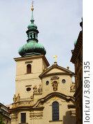 Собор Святого Николая, Прага (2012 год). Стоковое фото, фотограф Екатерина Высотина / Фотобанк Лори