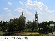 Купить «Орел, собор Михаила Архангела», фото № 3892039, снято 7 августа 2012 г. (c) Наталья Спиридонова / Фотобанк Лори