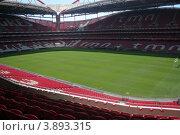 Вид на футбольный стадион Бенфика в Португалии (2012 год). Редакционное фото, фотограф Oksana Oleneva / Фотобанк Лори