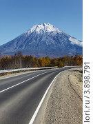 Дорога на Корякский вулкан. Камчатка, фото № 3898791, снято 30 сентября 2012 г. (c) А. А. Пирагис / Фотобанк Лори
