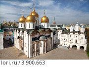 Купить «Успенский собор. Московский Кремль», фото № 3900663, снято 14 сентября 2012 г. (c) Наталья Волкова / Фотобанк Лори