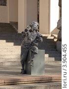 Купить «Живая скульптура на Крещатике. Киев.», фото № 3904455, снято 9 сентября 2012 г. (c) Ирина Балина / Фотобанк Лори