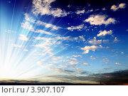 Купить «Морской закат», фото № 3907107, снято 20 сентября 2012 г. (c) Sergey Nivens / Фотобанк Лори