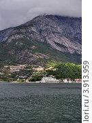 Купить «Норвежские фьорды в пасмурную погоду», фото № 3913959, снято 22 октября 2008 г. (c) Estet / Фотобанк Лори
