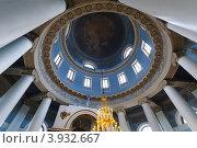 Вид на купол ротонды храма иконы Божией Матери Всех скорбящих Радость. Стоковое фото, фотограф Михайлов Виталий / Фотобанк Лори