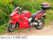 Купить «Мотоцикл», эксклюзивное фото № 3938423, снято 16 июня 2012 г. (c) Юрий Морозов / Фотобанк Лори