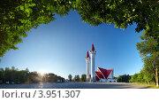 Купить «Мечеть Ляля-Тюльпан», фото № 3951307, снято 29 июля 2012 г. (c) Рамиль Юсупов / Фотобанк Лори