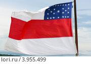 Флаг штата Амазонас. Стоковое фото, фотограф Виктор Андреев / Фотобанк Лори