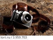 Фотоаппарат зенит 3м (2011 год). Редакционное фото, фотограф Ирина Жулябина / Фотобанк Лори