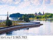 Купить «Ярославль летом, вид на Волгу», фото № 3965783, снято 28 июля 2012 г. (c) Яков Филимонов / Фотобанк Лори