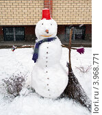 Купить «Снеговик», фото № 3968771, снято 12 декабря 2011 г. (c) Елена Вяселева / Фотобанк Лори