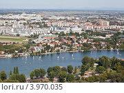 Купить «Панорама современной Вены», фото № 3970035, снято 15 августа 2012 г. (c) Наталья Волкова / Фотобанк Лори