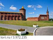 Коломна. Коломенская (Маринкина) башня кремля. Стоковое фото, фотограф Владимир Фалин / Фотобанк Лори