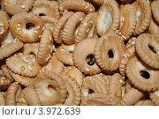 Печенье с кунжутом. Стоковое фото, фотограф Шишова Анна Сергеевна / Фотобанк Лори