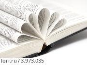 Страницы открытой книги сложенные веером. Стоковое фото, фотограф Роберт Ивайсюк / Фотобанк Лори