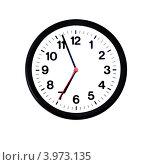 Часы на белом фоне. Стоковое фото, фотограф Роберт Ивайсюк / Фотобанк Лори